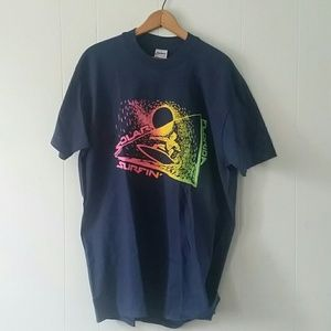 Other - Vintage Surf Tshirt 90s Tee Neon Florida